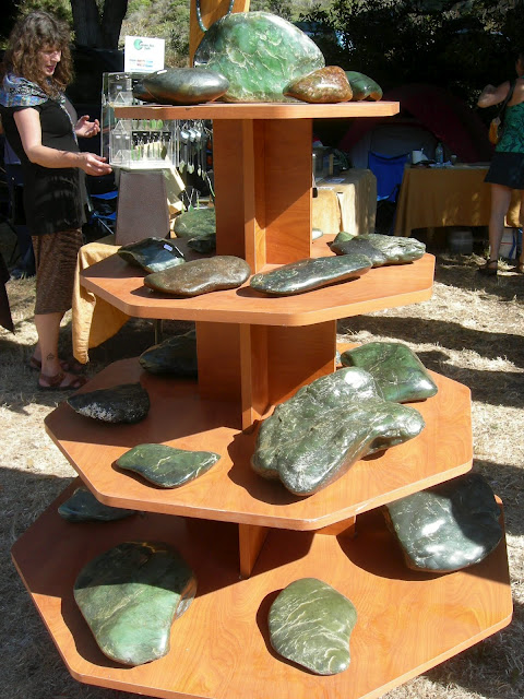 Big Sur Jade Festival pics of Oceans Art Jade display 2012 a
